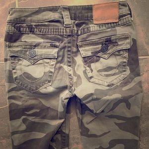 True religion camo pants 25